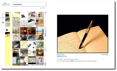 Suchergebnisse bei FlickrStorm