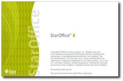 Splashscreen StarOffice 8
