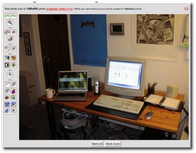 Editor von Phixr.com