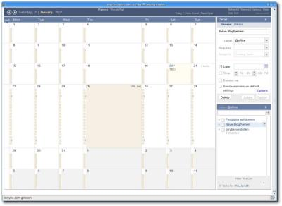 Kalender in Iscrybe