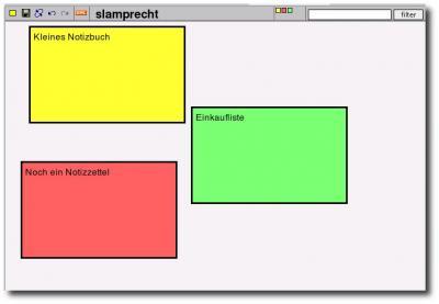 Screenshot Webnote