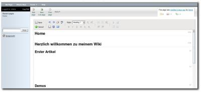Editor von Wiki.com